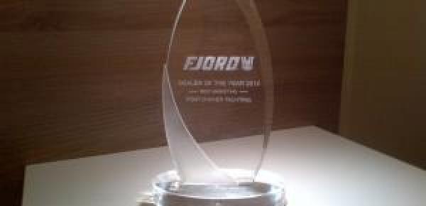 FJORD FRANCE : Trophée du BEST MARKETING !