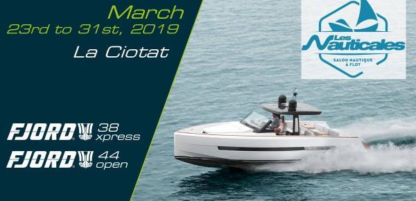 Salon Les Nauticales du 23 au 31 Mars 2019 La Ciotat