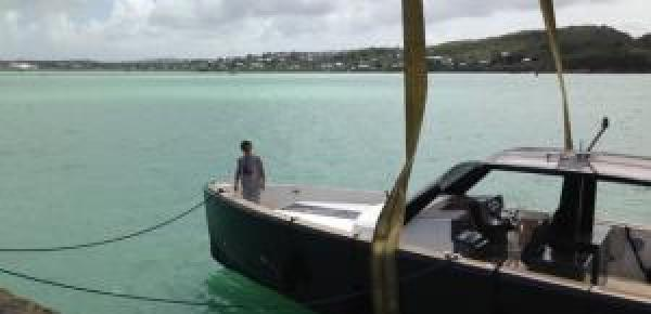 FJORD 40: a sensational arrival to Antigua!